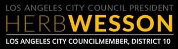 LA City Council President Herb Wesson